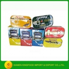 fish canned food supplier from china - product's photo