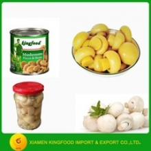 canned whole button mushroom can - product's photo