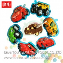 cars shape chocolate snack - product's photo