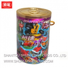 chocolate biscuit in car shape box - product's photo