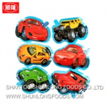60pcs cars shape chocolate dip biscuit - product's photo