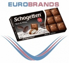 schogetten chocolate black & white - product's photo
