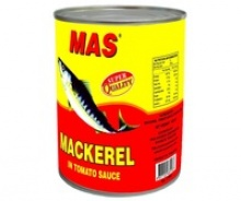 canned mackerel in tomato sauce - product's photo