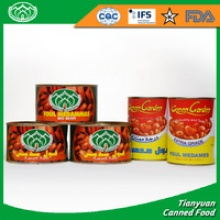 canned broad beans - product's photo
