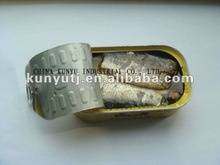 canned sardines in oil 125g - product's photo
