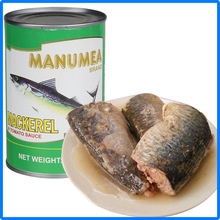 chinese famous can food canned mackerel in brine/oil/tomato sauce - product's photo