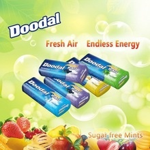 doodal sugar free mints,peppermint mints,same as wrigley mints - product's photo