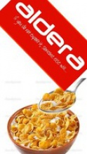 corn flakes breakfast cereals honey  - product's photo
