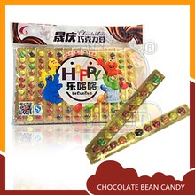 colorful tasted candy bean chocolate - product's photo