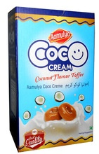 toffees/ candies/ lollipops/ delicious coco cream toffees / chocolates - product's photo