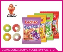 candy and sweets ring gummy candy with sour powder candy - product's photo