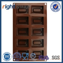12 holes rectangular silicone baking chocolate - product's photo