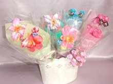 various types of cute birthday gift candy with strawberry flavor made in japan - product's photo
