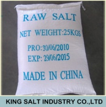 bulk pack iodized raw salt - product's photo