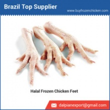 halal frozen chicken feet from brazil - product's photo
