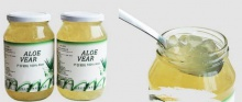 canned pure aloe pulp  - product's photo