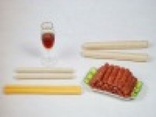 fresh edible collagen casing for sausage - product's photo