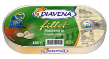 mackerel fillet in greek sauce 180g. (diavena) - product's photo