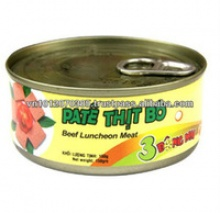 beef luncheon meat canned food - product's photo