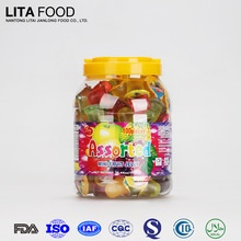 factory price original brand assorted fruit flavours marshmallow jelly pop candy - product's photo