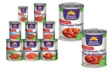 organic canned tomatoes - product's photo
