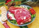 frozen pork meat collar bonless skinless - product's photo