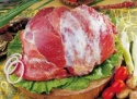 frozen pork meat shoulder boneless skinless - product's photo