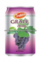 canned natural grape fruit drink - product's photo
