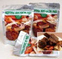 mongolian stewed horse meat, natural meat product  - product's photo