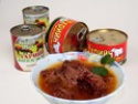 canned steamed beef, mongolian natural meat pro - product's photo