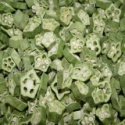 dehydrated nutritious freeze dried okra - product's photo