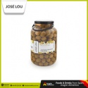 spanish gordal whole and pitted green jumbo olives - product's photo