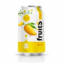 fruit juice packaging nfc fruit mango juice 330ml  - product's photo