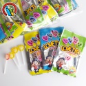 5in1 heart lollipop - product's photo