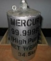 pure liquid mercury and red mercury 99.99% - product's photo