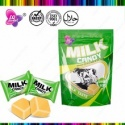 in bag with chocolate/ milk / fruit flavored chewy soft candy - product's photo
