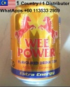 wee power energy drink 250ml - product's photo