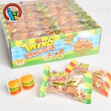 twins hamburger gummy jelly soft candy - product's photo