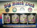 big black dick dark caribbean rum - product's photo