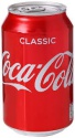 coca-cola classic 330ml - product's photo
