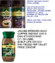 jacobs instant coffee 200g - product's photo