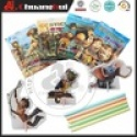 hot sale in bolivia 10g puzzle cc stick candy/ with 3d puzzle - product's photo