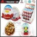 similar kinder egg with toy / chocolate egg with biscuit king - product's photo