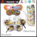 butterfly chocolate biscuit cup sweet and funny - product's photo