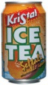 iced tea in can 330cc - product's photo