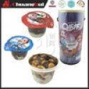chocolate biscuit star cup - product's photo