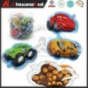 car model milk chocolate with biscuit / car chocoate cup - product's photo