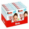 kinder chocolate t4 50g / kinder chocolate 100g t8 / kinder bueno 43g - product's photo