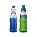 beer kronenbourg 1664 blanc 250ml blue bottle  - product's photo