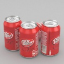 dr pepper & dr pepper zero soft drink  - product's photo